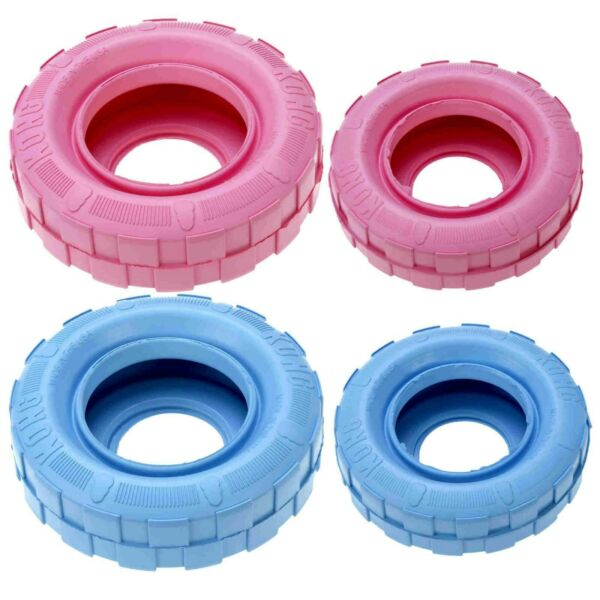 Kong Puppy Tires Dog Toy  Free Shipping $11.95