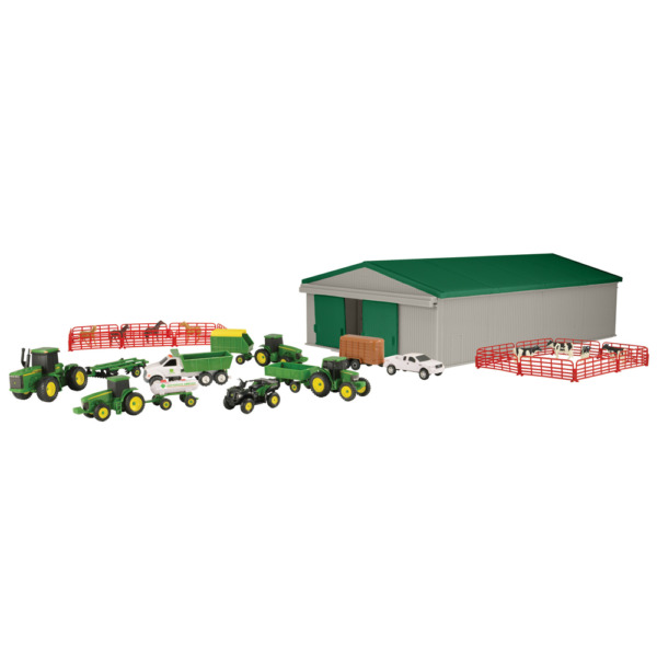 Ertl John Deere 1:64 Scale 70 Pc. Farm Toy Playset