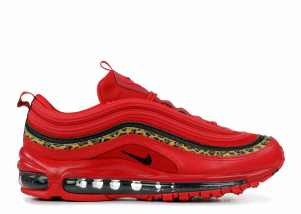 Nike Womens Air Max 97 Leopard Pack Red BV6113-600