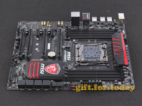 MSI X99S GAMING 7 LGA2011 3 Intel X99 SATA 6Gb s USB3.0 Motherboard With I O