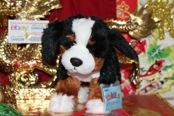 WEBKINZ BERNESE MOUNTAIN DOG.COMES COMES WITH SEALEDUNUSED CODETAG.NICE GIFT