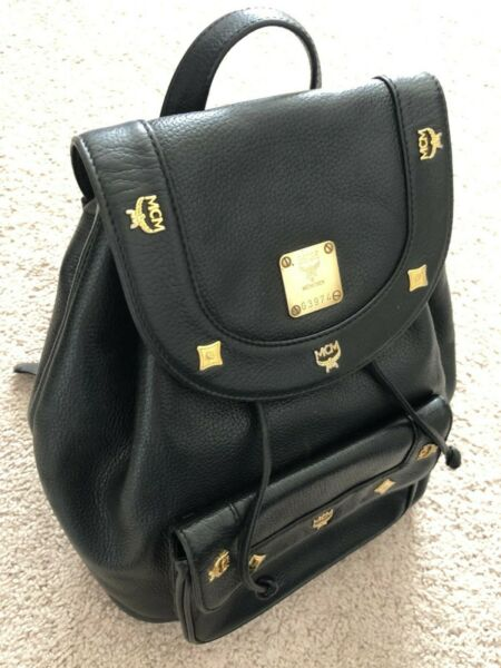 Authentic MCM Munchen backpack Leather made in Germany