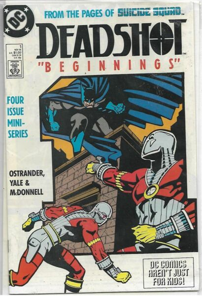 Deadshot U-PICK ONE #123 or 4 DC 1988 Copper Age Issues PRICED PER COMIC