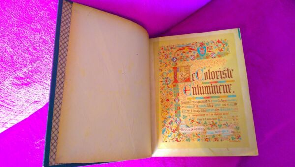 Le Coloriste Enlumineur 50 Magazines 1893 1897 Desclee of Brouwer