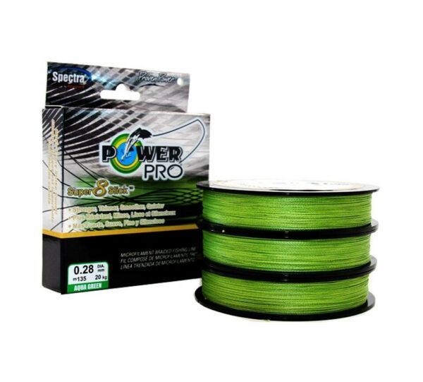 135m Braided PE Fishing Line 8 Stand Pro Super 8 Slick Power Japan Fishing Line