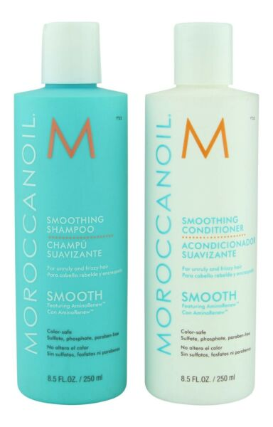 Moroccanoil Smoothing 8.5 oz Shampoo Conditioner or Duo Set