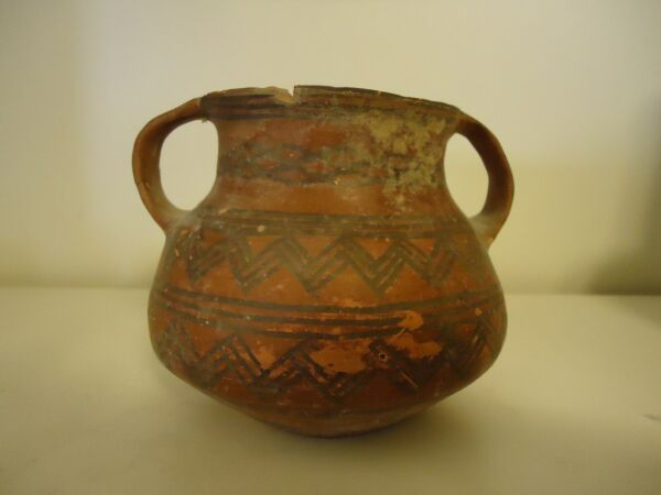 ANTIQUE POTTERY VASE #2 FROM TOMB OF 1ST EMPEROR OF CHINA FROM 221 BC