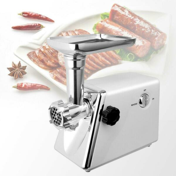 Durable Electric 2800W Meat Grinder Industrial Stuffer Maker Cutter Home NEW
