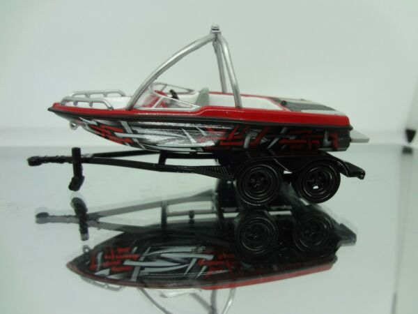 JL Typhoon A Boat with Trailer 1:64 Loose New Mint Rare $8.99