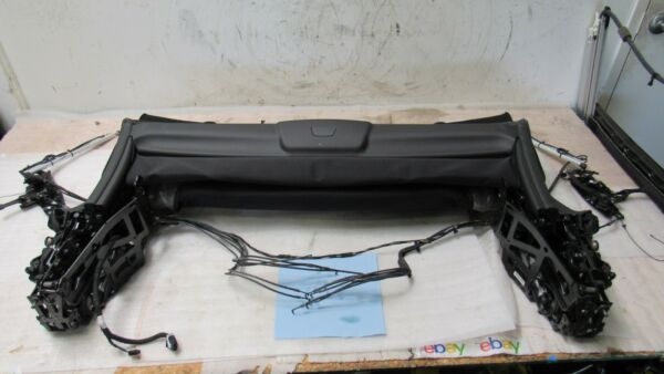 12-18 BMW F12 650I 640I M6 CONVERTIBLE TOP ROOF SUNROOF COVER LINER 29k OEM