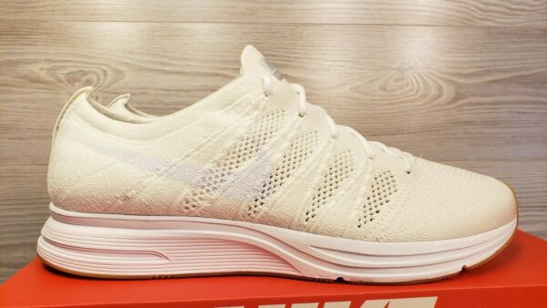 Nike Flyknit Trainer White Gum Running Fashion Sneakers AH8396 102 Pick Size