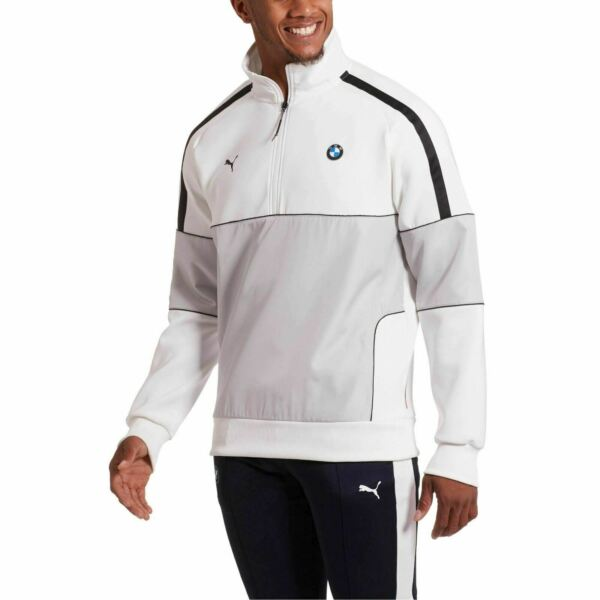577779 02 Mens Puma BMW Motorsport Life 1 2 Zip Sweat