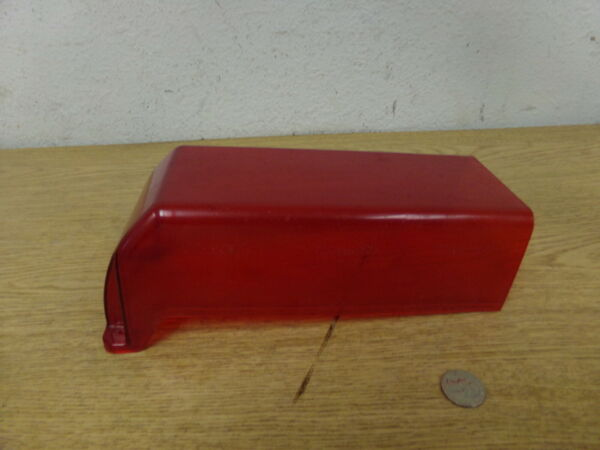 Whelen Red End cover Lens 10.5quot; long 4 1 4quot; Wide *FREE SHIPPING*