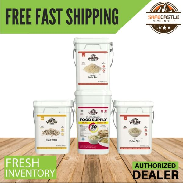 Augason Farms Meal Extender 3-Pack plus 30-Day Deluxe Pail Free Shipping