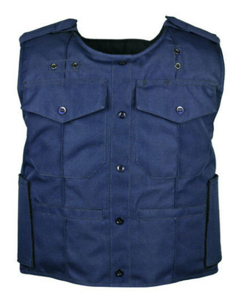 Second Chance ABA Uniform Shirt Body Armor Carrier 4 Pocket DARK NAVY $99.00