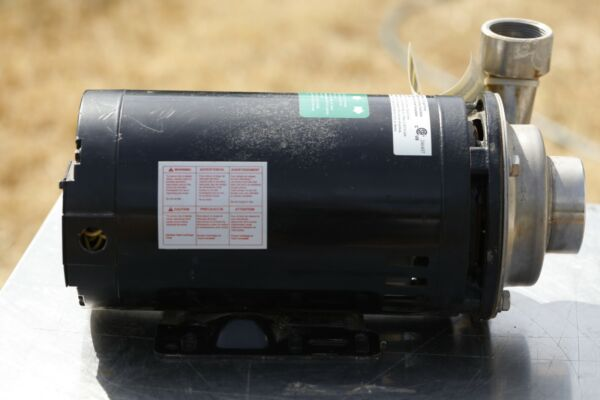 DAYTON 4JMW3 Pump 2 HP 230 460V 8.4 4.2 Amp New No Box $525.99