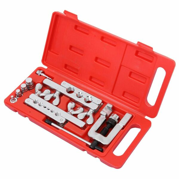 Portable HVAC 45º Flaring and Swaging Tool Kit Soft- Refrigeration Copper Tubing