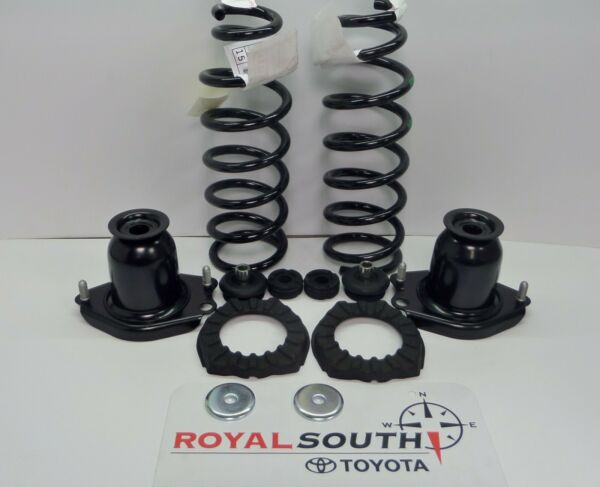 Toyota Prius 2004 - 2009 Rear Shocks Coil Springs Mounts Bushings Genuine OEM OE