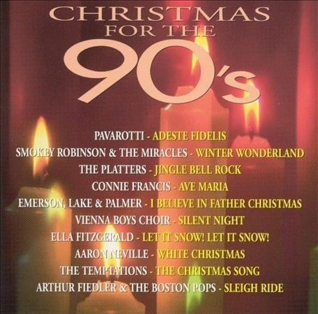 Christmas for the 90#x27;s by Various Artists CD Sep 1994 PGD $5.75