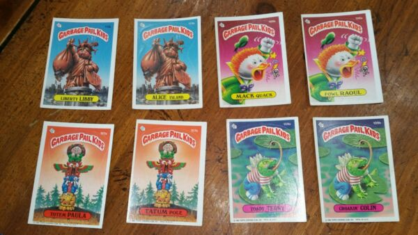 1986 Garbage Pail Kids Lot Series VINTAGE CARDS. MORE LISTED LOOK!      AWESOME!