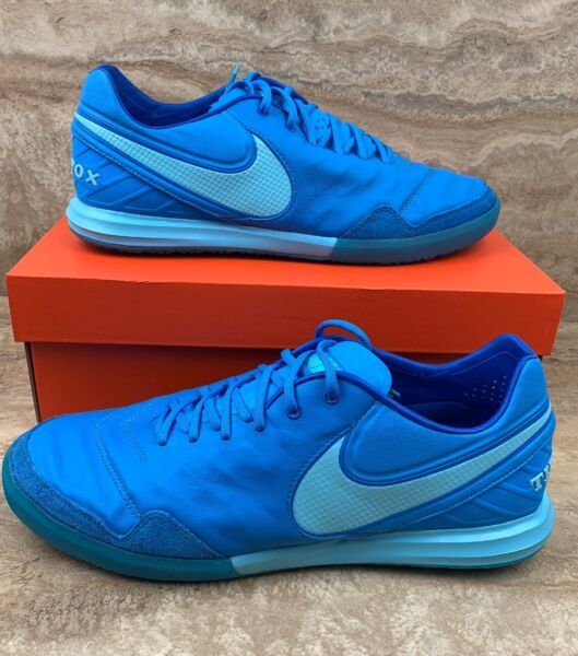 Nike Tiempox Proximo IC Men's Indoor Soccer Shoes Blue Glow