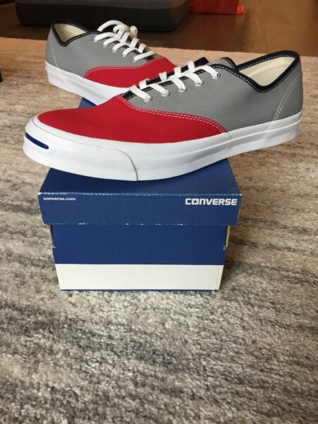 Converse Jack Purcell Signature CVO Ox Low Top Crimson/Dolphin Size 12 151456c