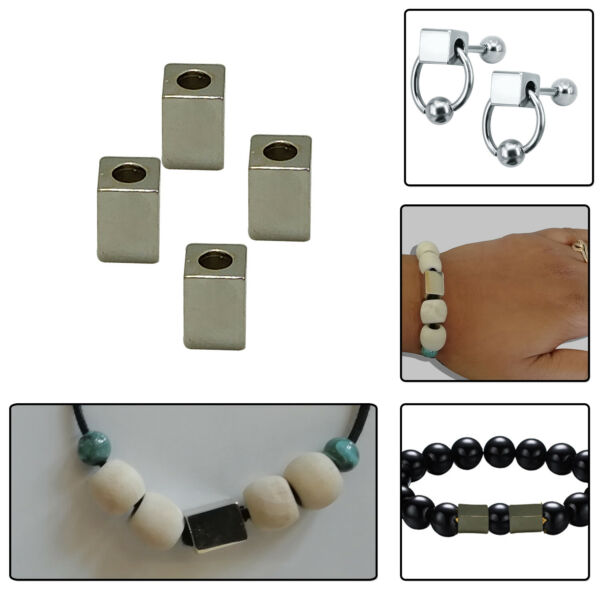 45mm Extra Long Gold Round Bugle Beads Tube Shaped for DIY Crafts Jewelry Making