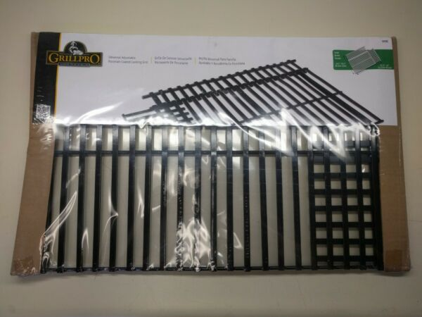 Grill Pro COOKING GRID 50335 Steel Porcelain Grate Replacement Adjustable Large