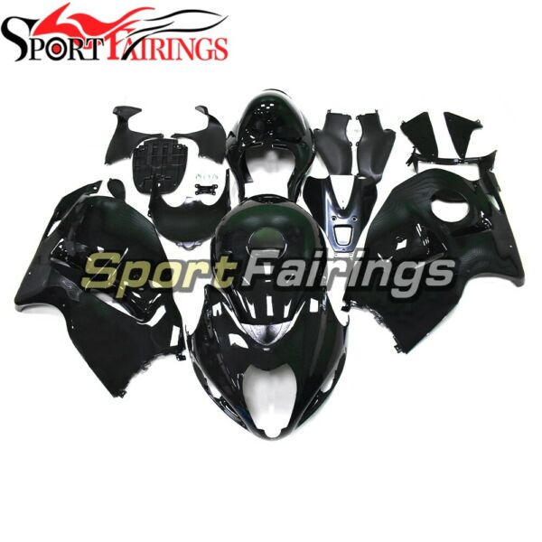 Gloss Black Fairings For 1997 98 99 00 01 02 03 04-2007 Suzuki GSXR1300 Hayabusa