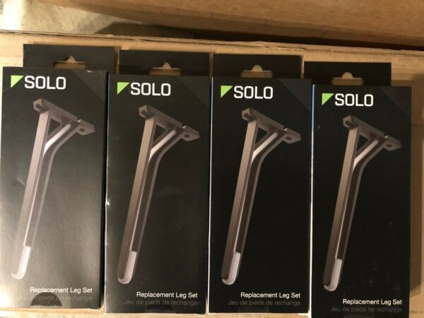 4 New sealed Retail Genuine 3DR Solo Drone Replacement Leg Sets LG11A Black