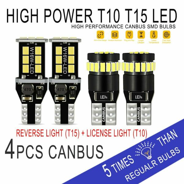 AUXITO 194 912 LED License PlateBackupReverse Light Bulbs for Ford F-150 09-14