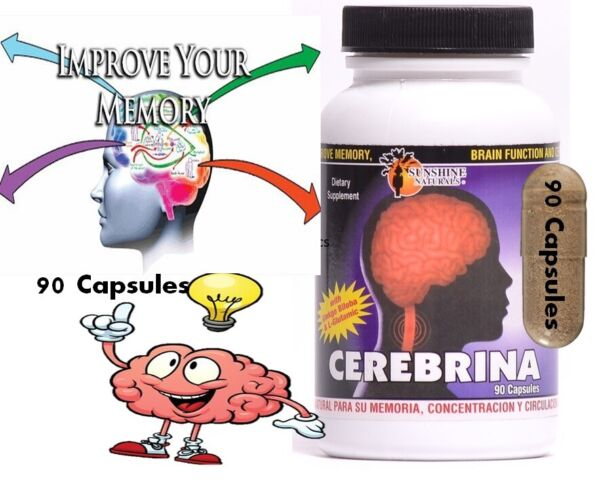 #1 BRAIN BOOSTER Increase Focus Memory amp; Clarity with Nootropic Supplement 90c