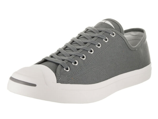 Converse Mens Jack Purcell Jack Ox 161635C Cool Grey/White/White Size 7 Unisex