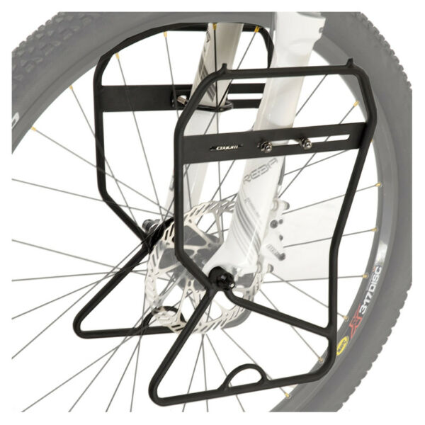 Bike Rack Front Axiom Journey Lowrider Suspension Disc Black $37.99