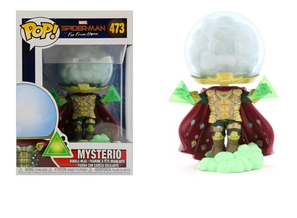 Funko Pop Marvel Spider-Man Far From Home: Mysterio Bobble-Head #39206