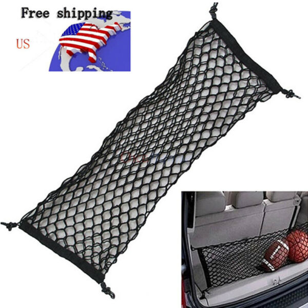 2019 New Car Accessories Envelope Style Trunk Cargo Net Universal $13.85