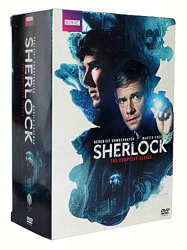 Sherlock: The Complete Series Seasons 1-4 + The Abominable Bride (9 Discs DVD)