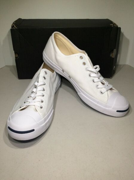 Converse Jack Purcell CP OX Men's Sz 11 White Low Top Sneakers X21-1109