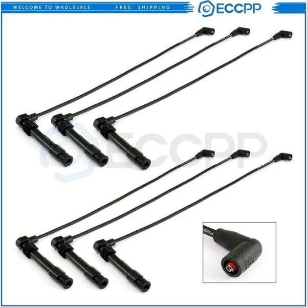 16pcs Spark Plug Ignition Wire 1121500 For Mercedes Benz C-Class E-Class ML SLK