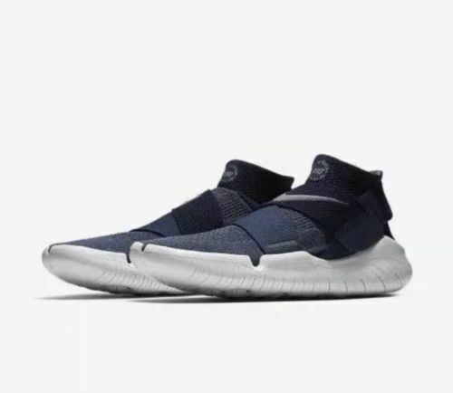 NIKE FREE RN MOTION FLYKNIT 2018 MEN'S RUNNING SHOES 942840-400 BLUE/GUNSMOKE