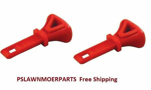 MTD PART # 951-10630 SNOW BLOWER IGNITION KEY 2 PACK 731-05632