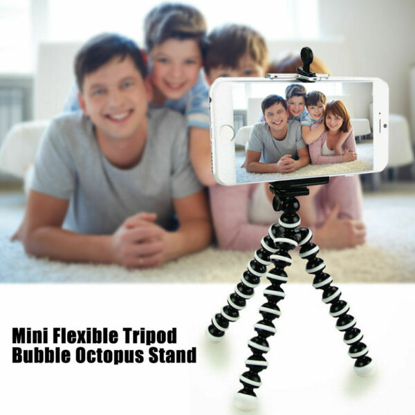 Portable Flexible Tripod Octopus Stand Gorilla Pod For Gopro Camera SLR DV Phone