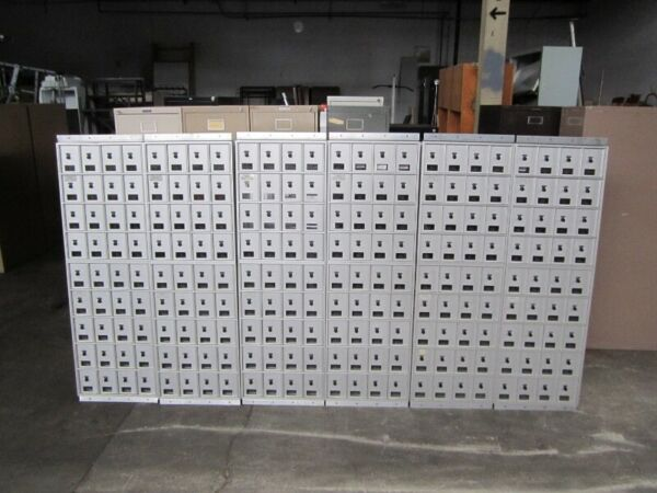 Bommer Industries Vintage 36 Unit Mail Box Clusters (# 1-216) (set of 6)