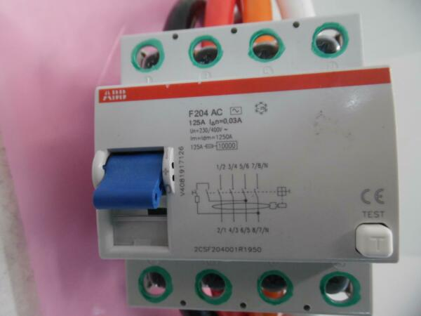 ABB F204 AC 125A CURRENT DEVICE