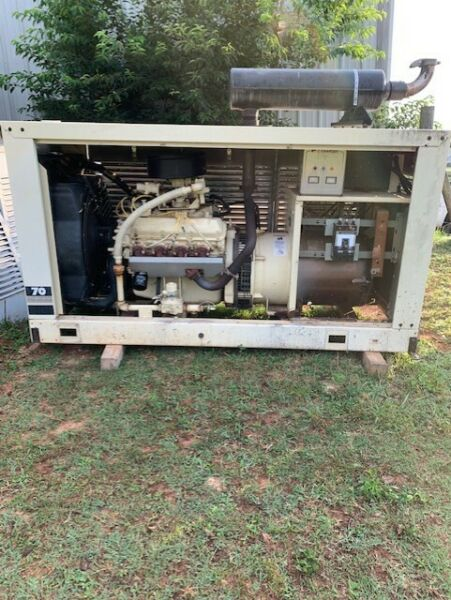 70 kw Kohler Generator and 150A Automatic Transfer Switch $7000.00