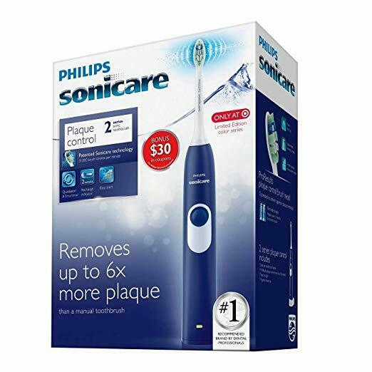 Philips Sonicare Series 2 Plaque Control Electric Toothbrush Deep Blue HX621192