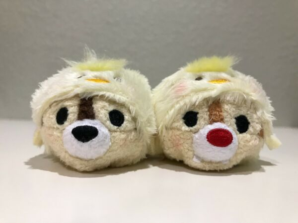 Disney Hong Kong Tsum Tsum mini 2017 Year Rooster Chip and Dale Chick $19.99