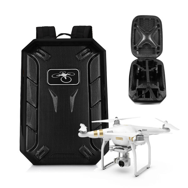 Waterproof Backpack Carrying Storage Bag Case for DJI Phantom 4/3 Drone Advanced
