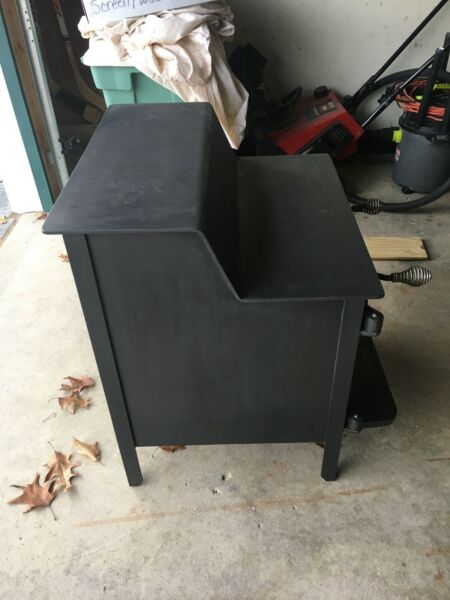 Wood Stove Fisher Rear exhaust