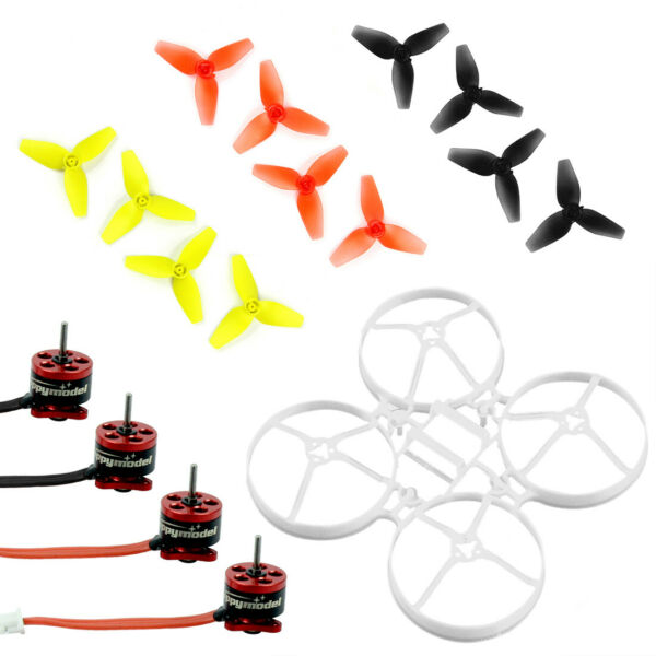 Brushless Whoop Frame with SE0603 KV16000 Motor Indoor FPV Racing Drone Parts
